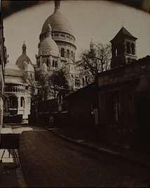 Eugene Atget, Paris, La Basilique de Sacre Coeur