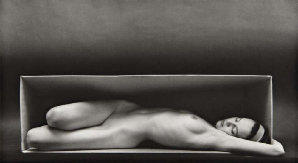 Ruth Bernhard, In the Box, 1962
