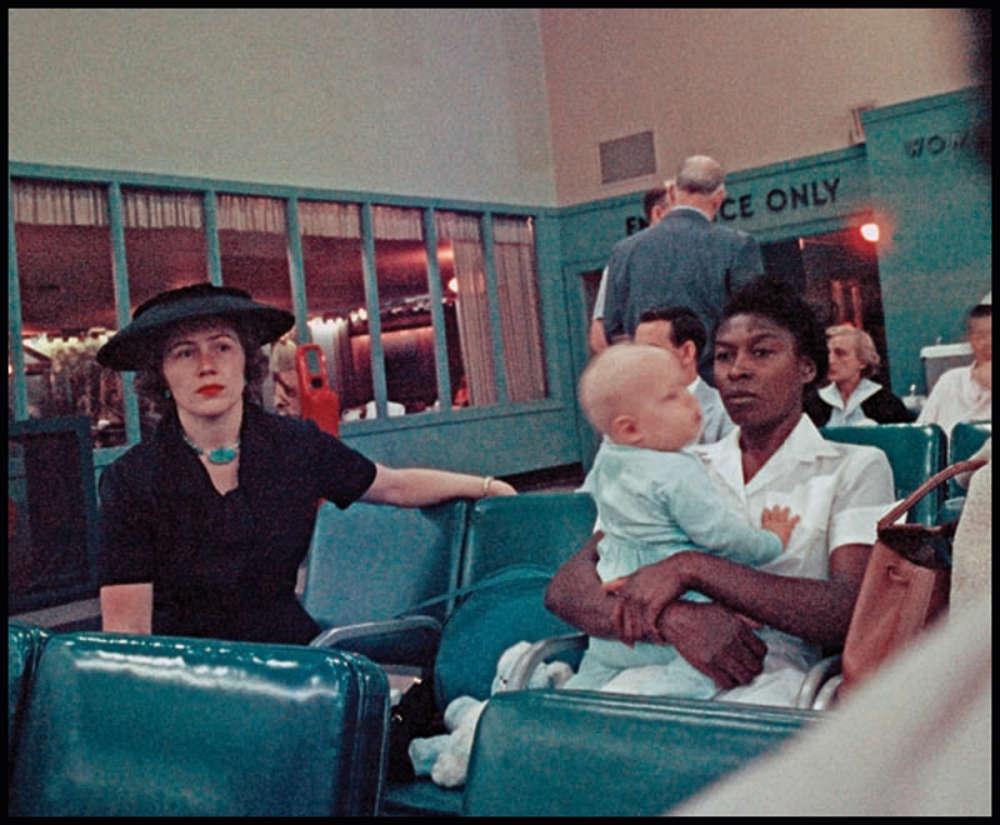 Gordon Parks, Airline Terminal, Atlanta, Georgia, (37.030), 1956