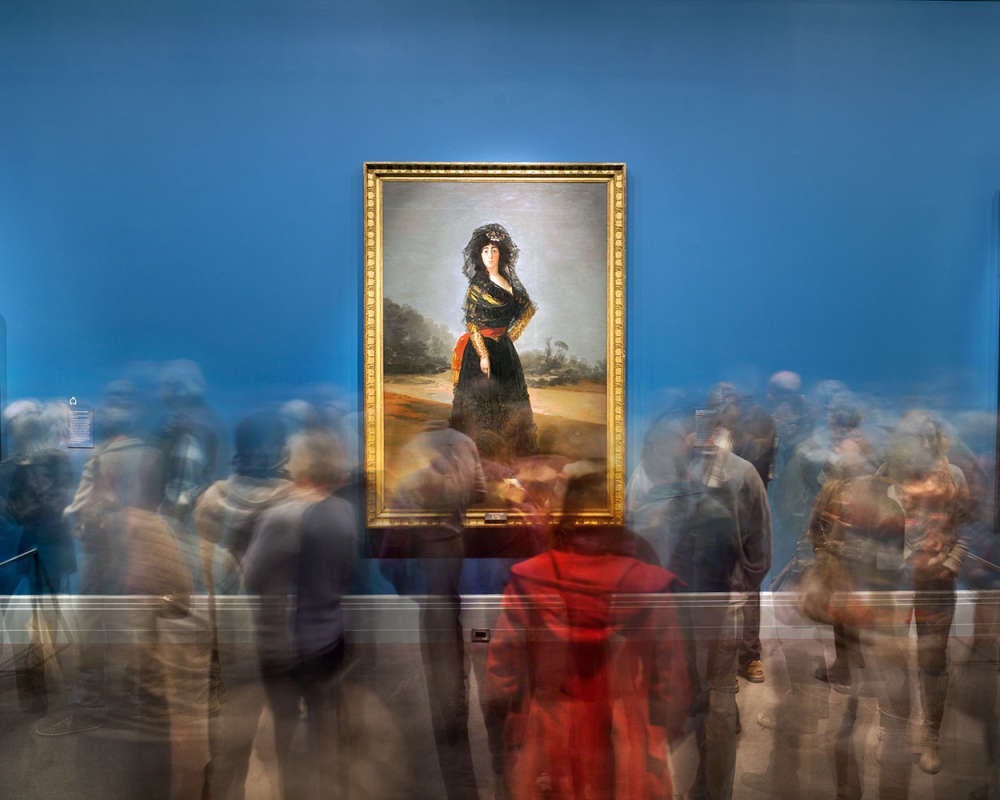 Matthew Pillsbury, Goya's Duchess of Alba, Goya Order & Disorder, Museum of Fine Arts Boston, 2014 (TV14685)