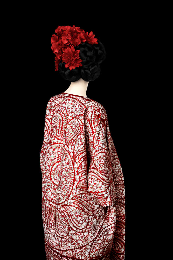 Erik Madigan Heck, Without a Face (Red), Old Future, 2013