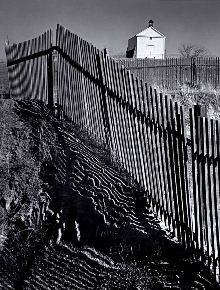 Ansel Adams, The White Church, Hornitos, California, From Portfolio One: Twelve Photographic prints by Ansel Adams, 1946