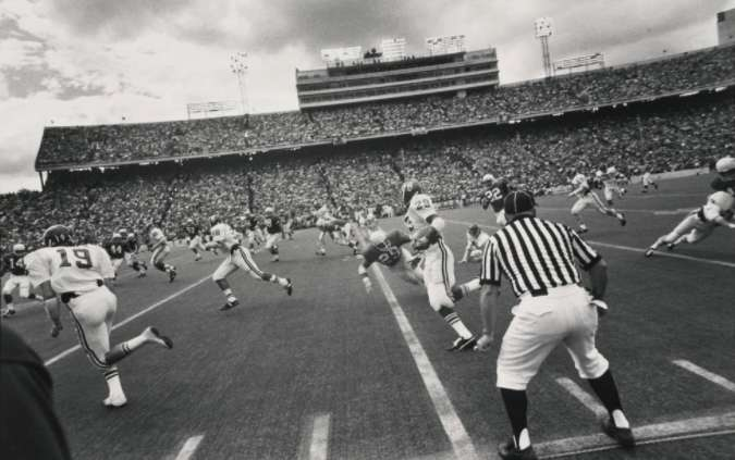 Garry Winogrand, Austin, Texas (football game) Garry Winogrand Portfolio, Hyperion Press, 1978, 1974