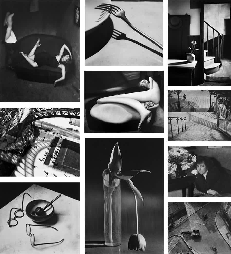André Kertész, Portfolio of Ten Prints, 1925 - 1939