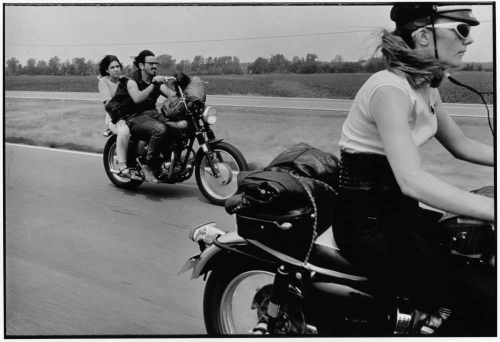 Danny Lyon, From Dayton to Colombus, Ohio, The Bikeriders Portfolio, 1966