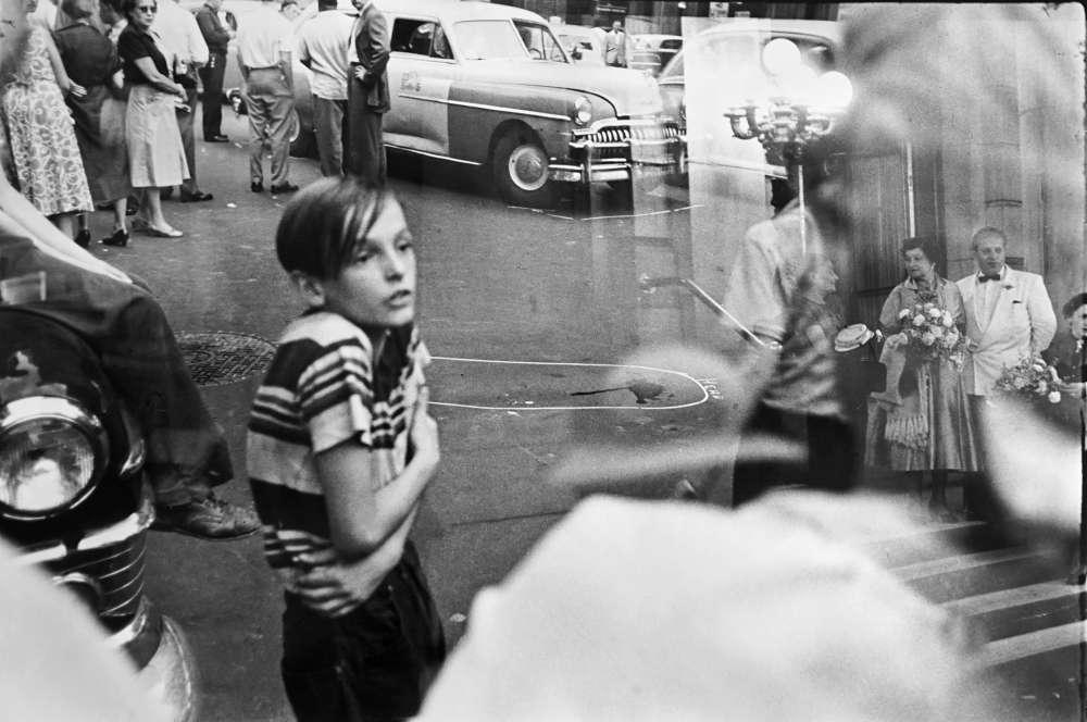 Louis Faurer, Accident, 1950