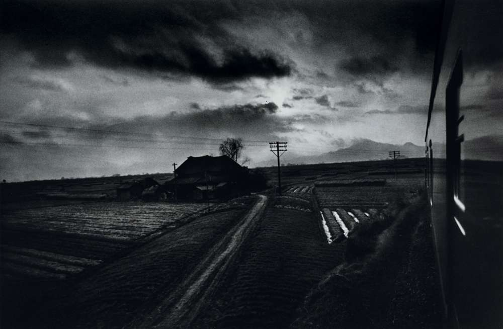 W. Eugene Smith, Landscape from Train, Japan, 1961-1962