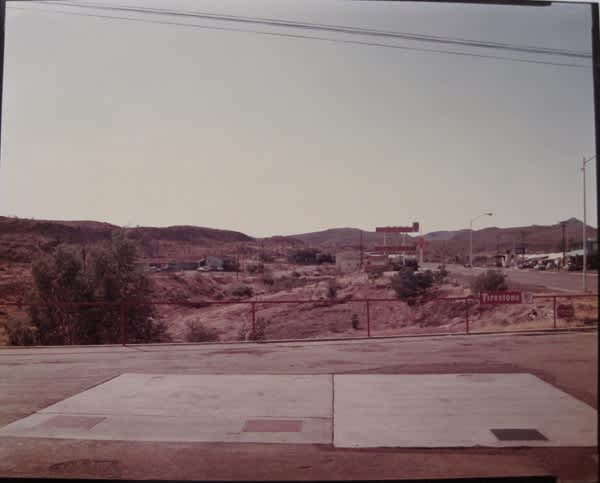 Stephen Shore, US 93, Kingman, AZ, 1975