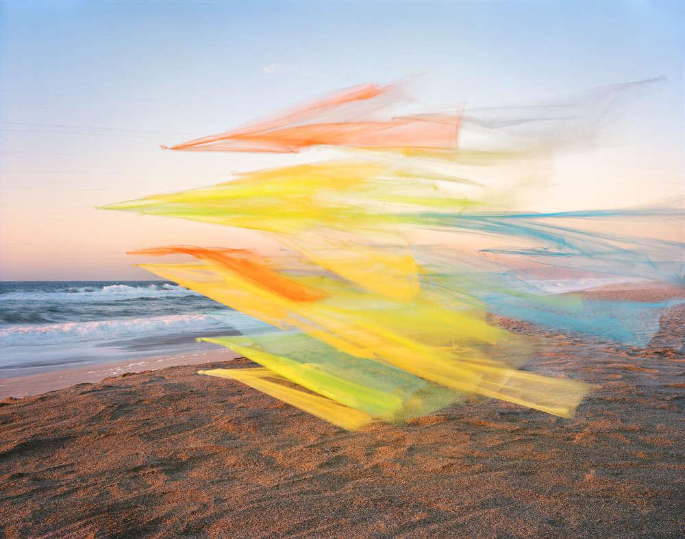 Thomas Jackson, Tulle no. 22, Point Reyes National Seashore, California, 2020