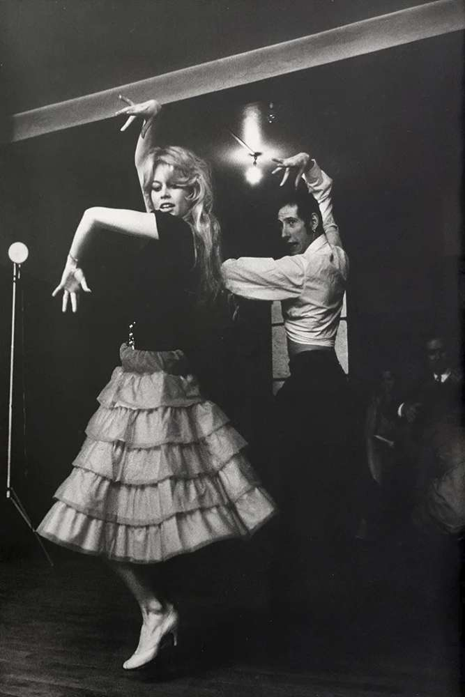 Willy Rizzo, Brigitte Bardot Dancing Flamenco in Paris, 1960