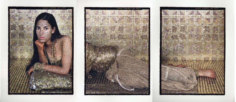 Lalla Essaydi, Bullets Revisited #4, 2012