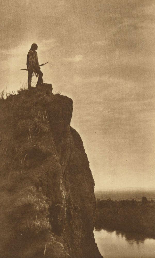 Joseph K. Dixon, The Last Outpost, commissioned by Rodman Wanamaker, 1908-1917