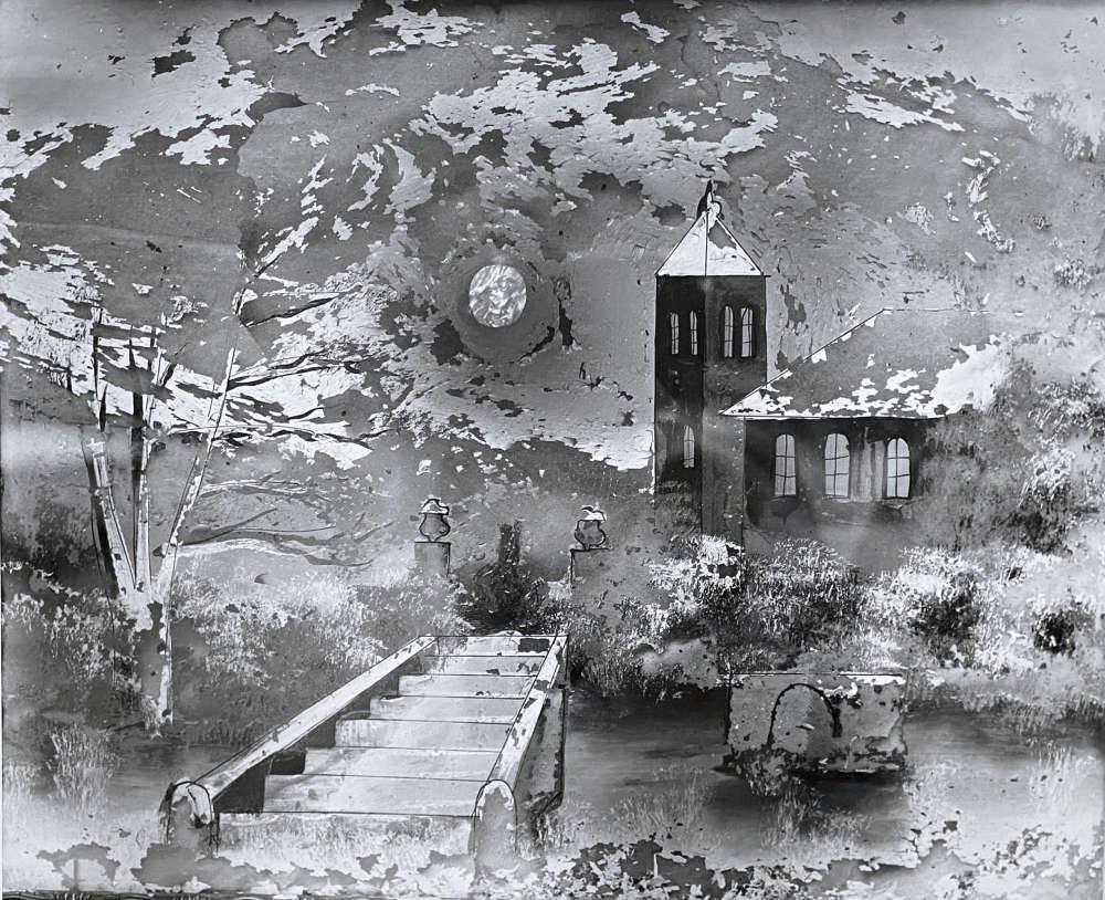 Clarence John Laughlin, Passage to Never Land, 1958