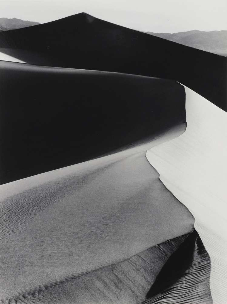 Ansel Adams, Sand Dunes, Sunrise, Death Valley, California, 1948