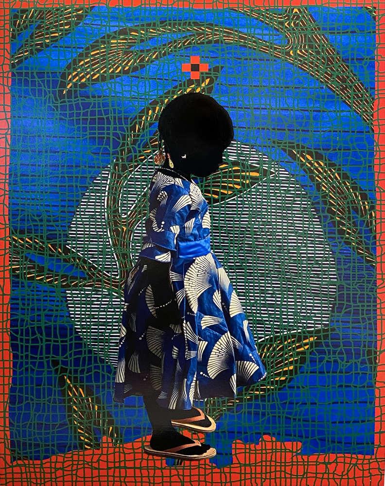 Saïdou Dicko, Harigato, T Feuilles d'or Green, Ouaga-Paris, 2020