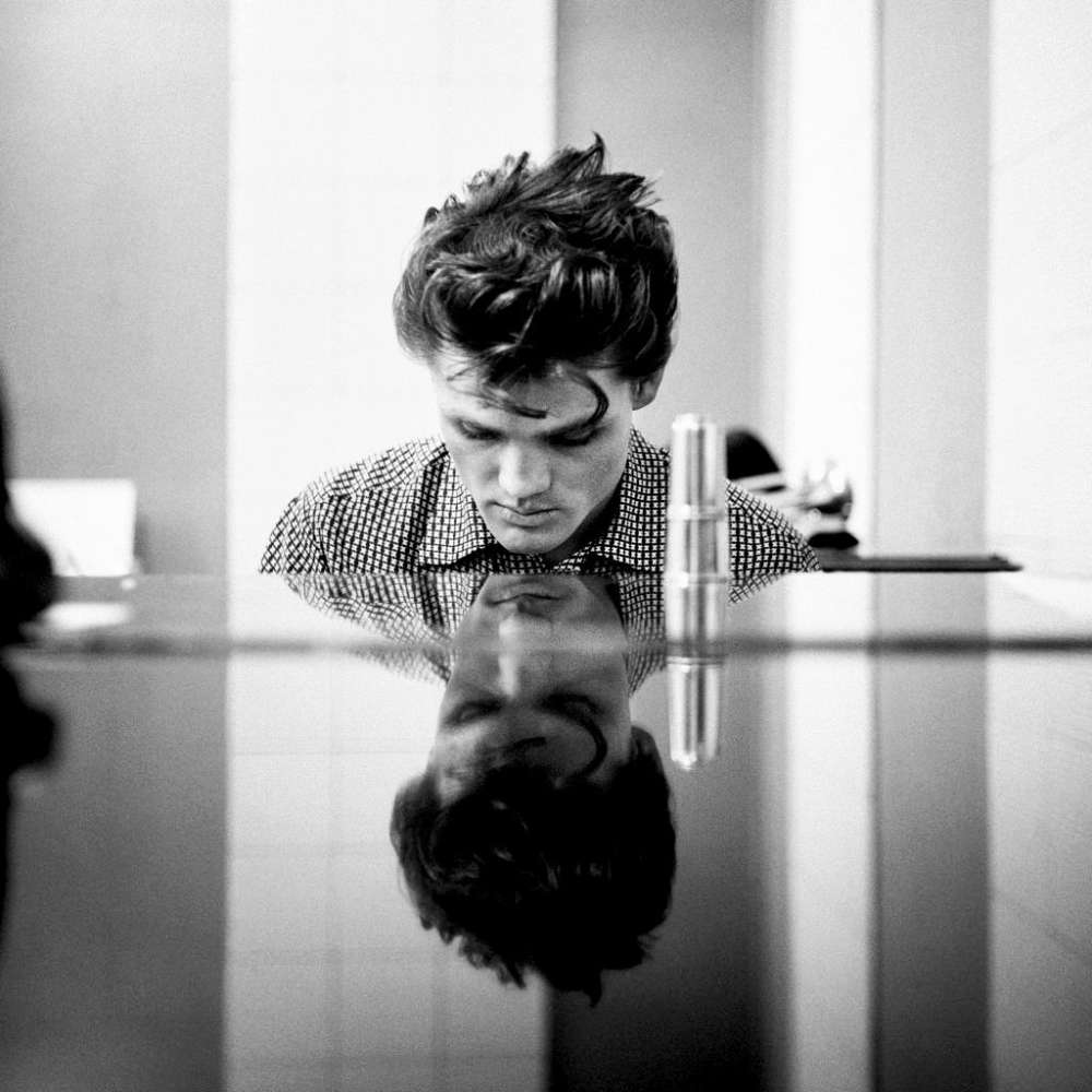 William Claxton, Chet Baker (Piano), Hollywood, 1954