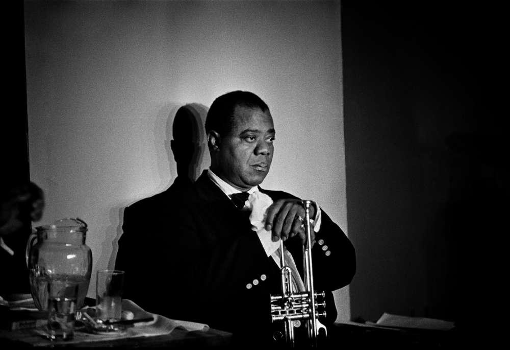 Herman Leonard, Louis Armstrong, Paris, (LSA01), 1960