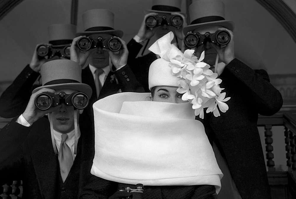 Frank Horvat, Givenchy Hat B, 1958