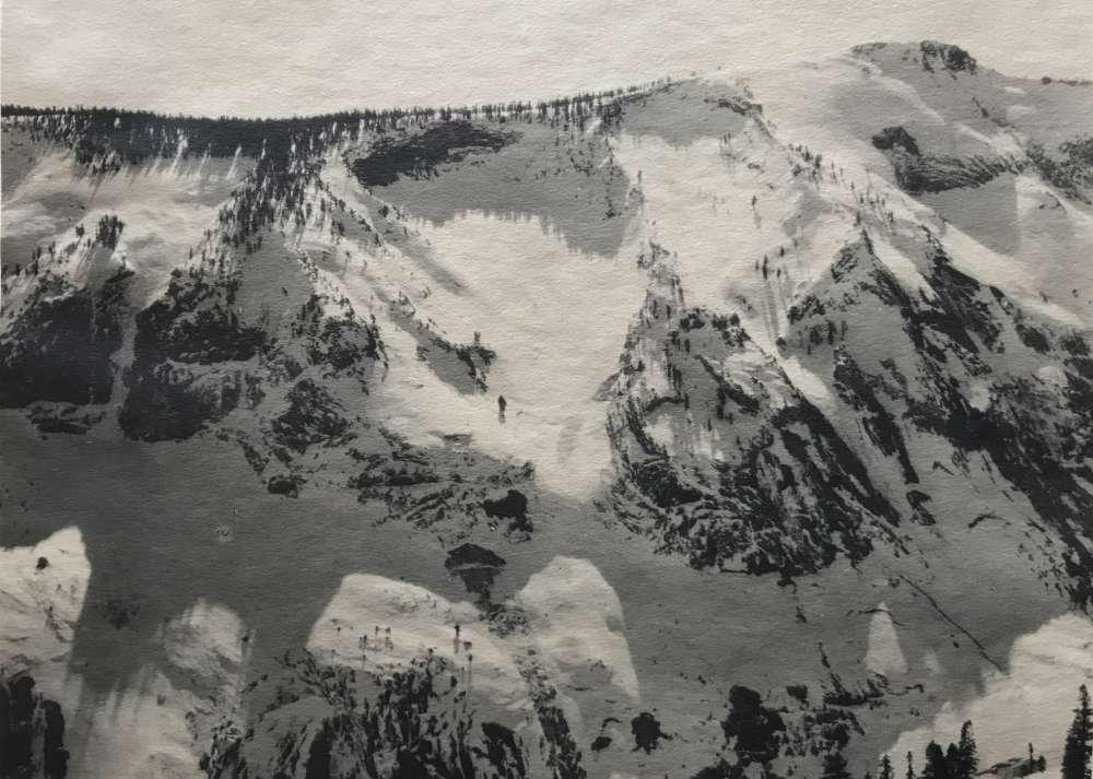 Ansel Adams, Cloud's Rest, 1930