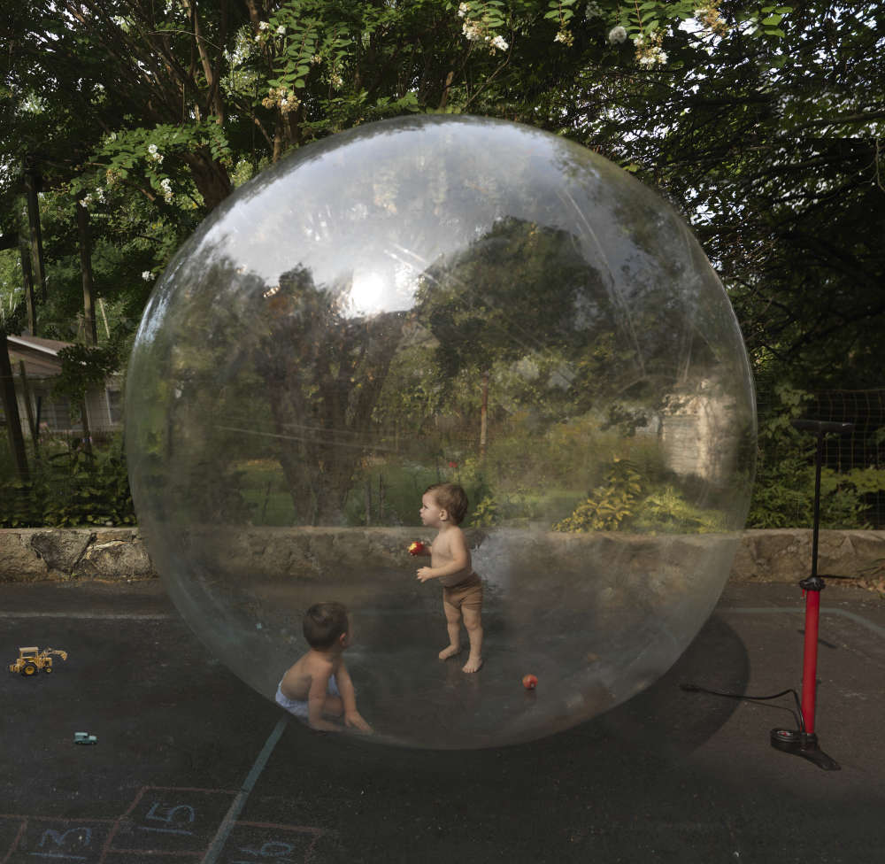Julie Blackmon, Bubble, 2020