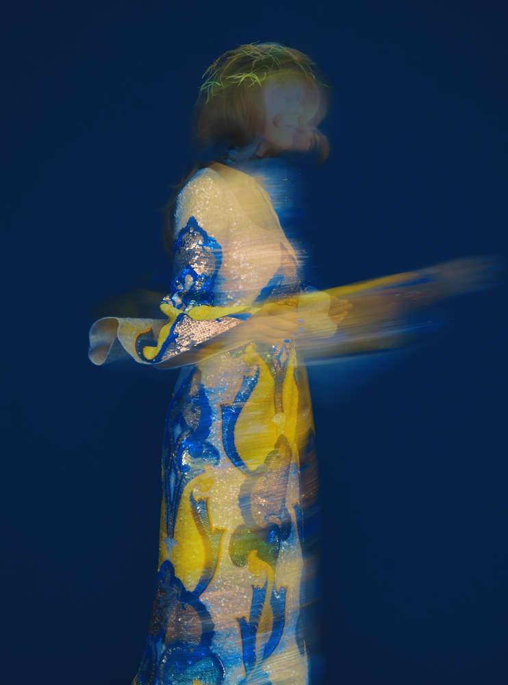 Erik Madigan Heck, Untitled, The Garden (Blue & Yellow Studio), 2019