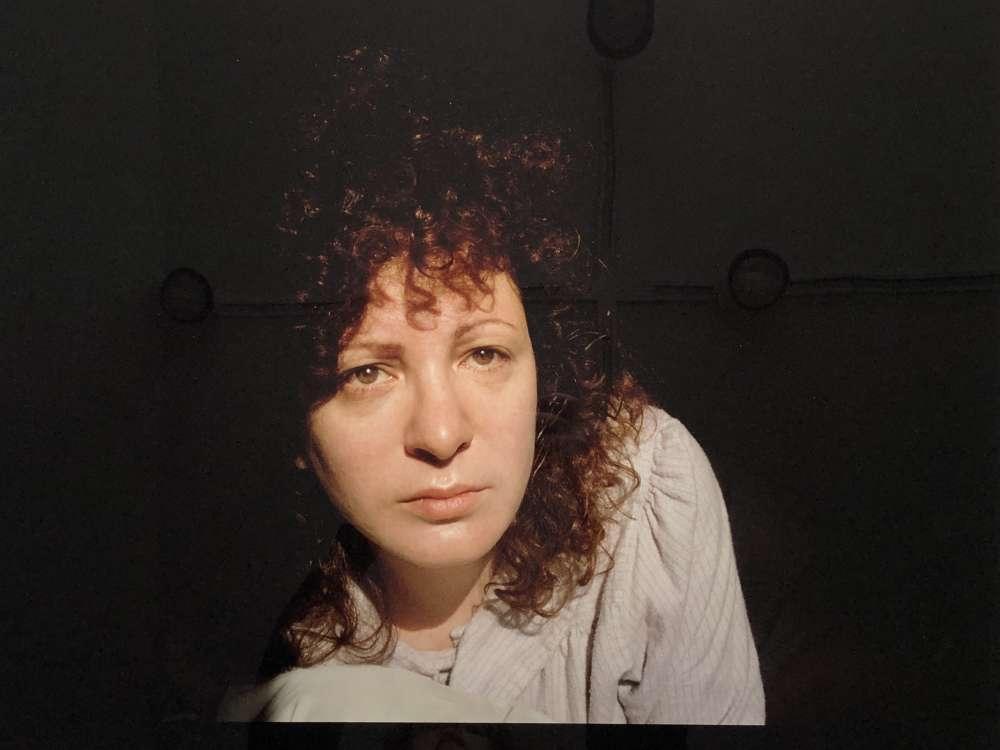 Nan Goldin, Self-Portrait in the light, Somerville, Mass., 1989