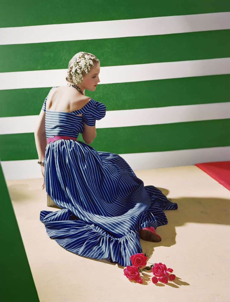 Horst P. Horst, Dress by Hattie Carnegie, 1939