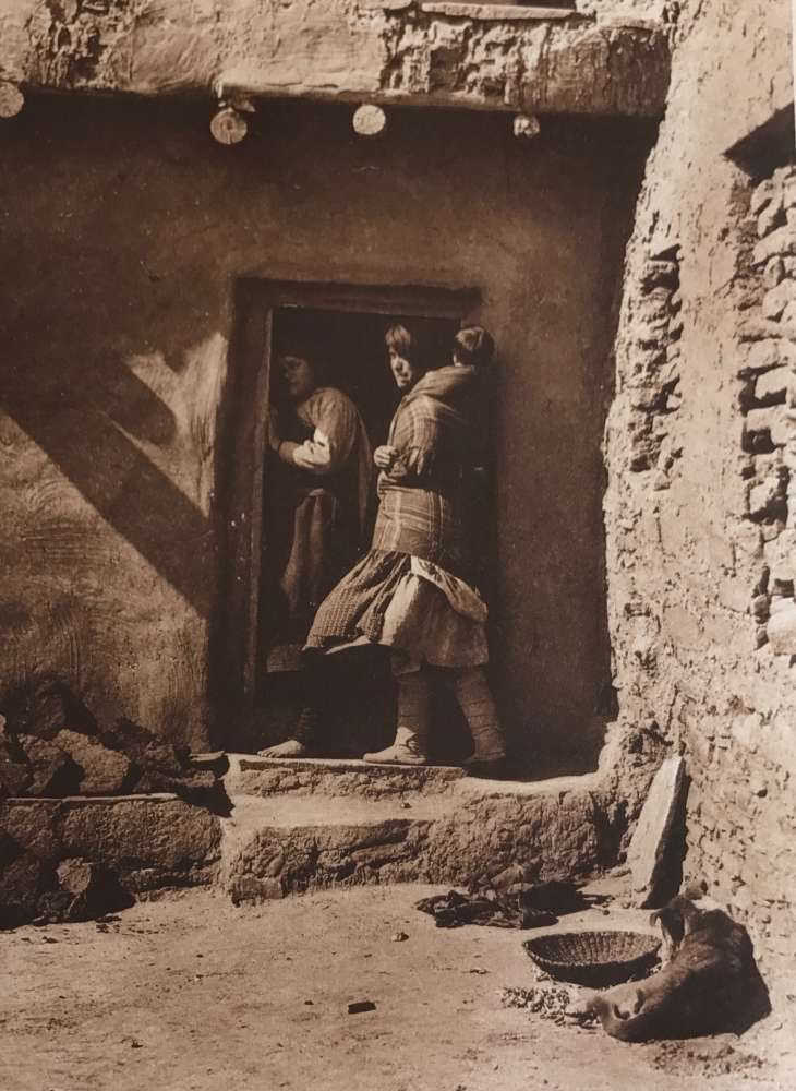 Edward S. Curtis, A Zuni Doorway, 1903