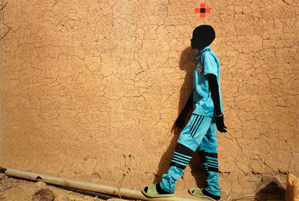 Saïdou Dicko, L'enfant Bleu, Ouaga-Paris, 2019