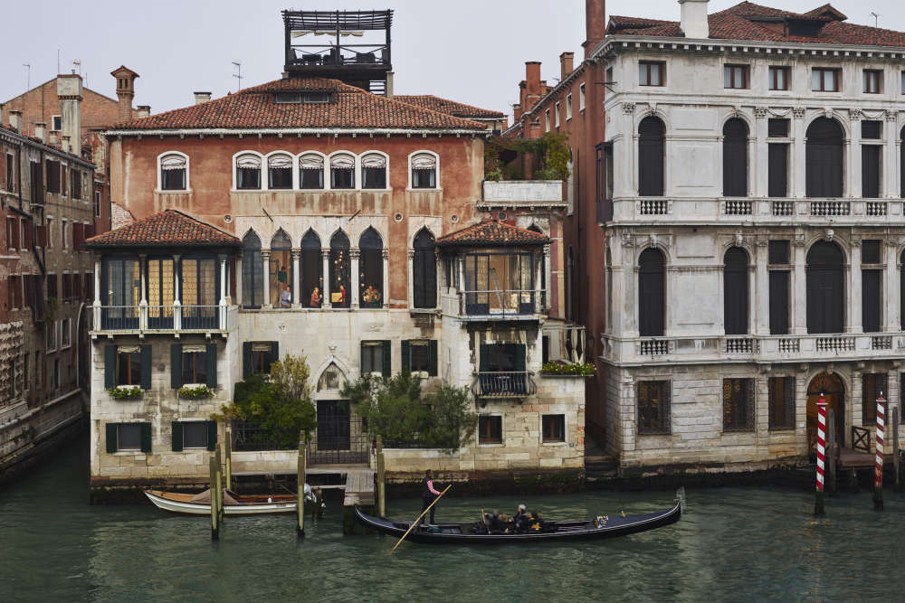 Gail Albert Halaban, Moving, San Marco, Venice, Italy, 2018