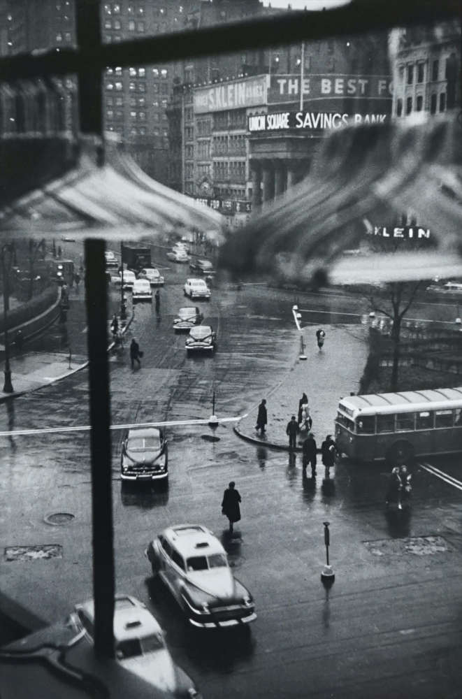 Louis Faurer, Union Square, NYC, (From window of Orbach's), 1948