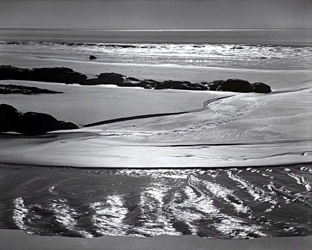 Ansel Adams, Refugio Beach, California, From Portfolio One: Twelve Photographic prints by Ansel Adams, 1946