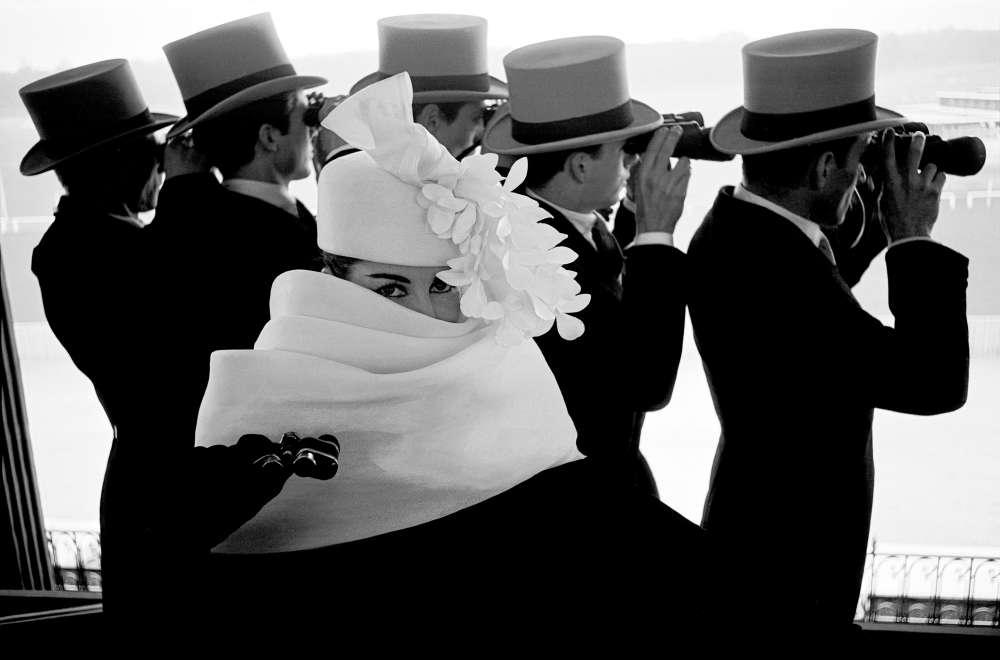 Frank Horvat, Givenchy Hat C, 1958