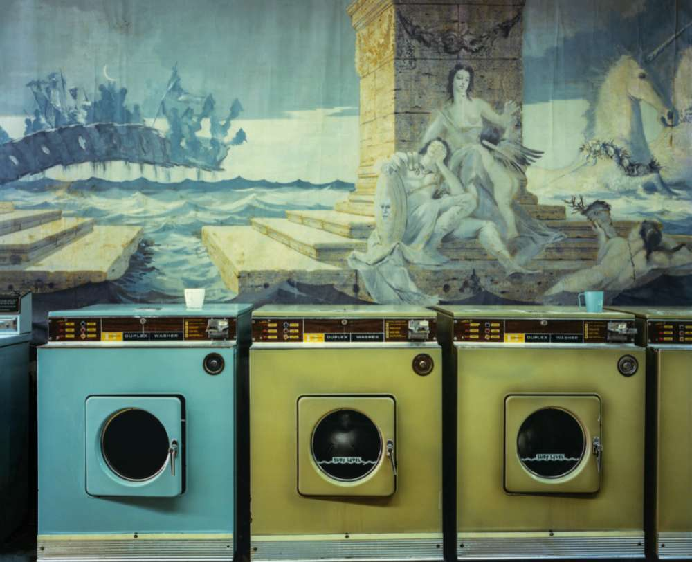 Langdon Clay, Laundromat, 1977