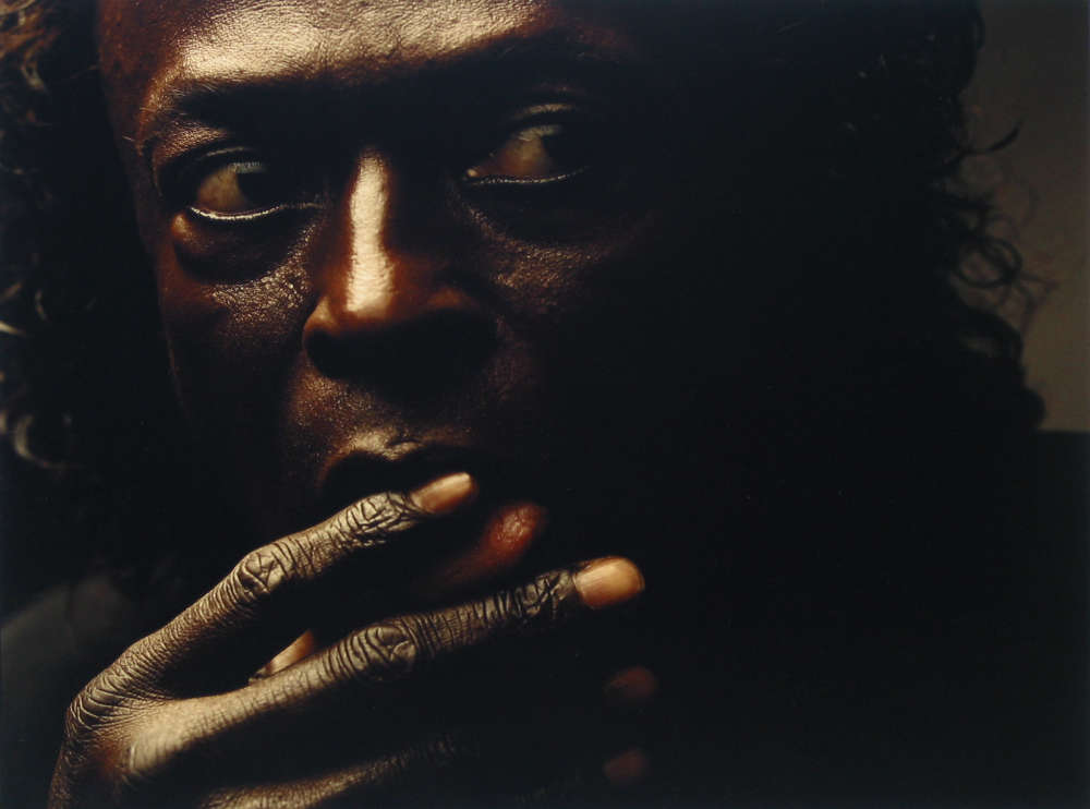 Annie Leibovitz, Miles Davis, New York City, 1989