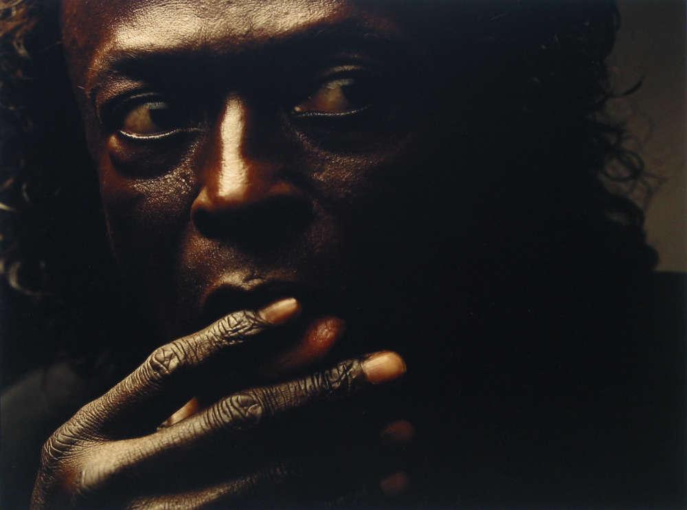 Annie Leibovitz, Miles Davis, New York City, 1989