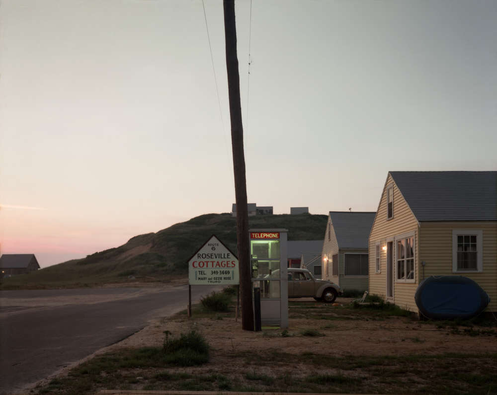 Joel Meyerowitz, Roseville Cottages, Truro, 1976
