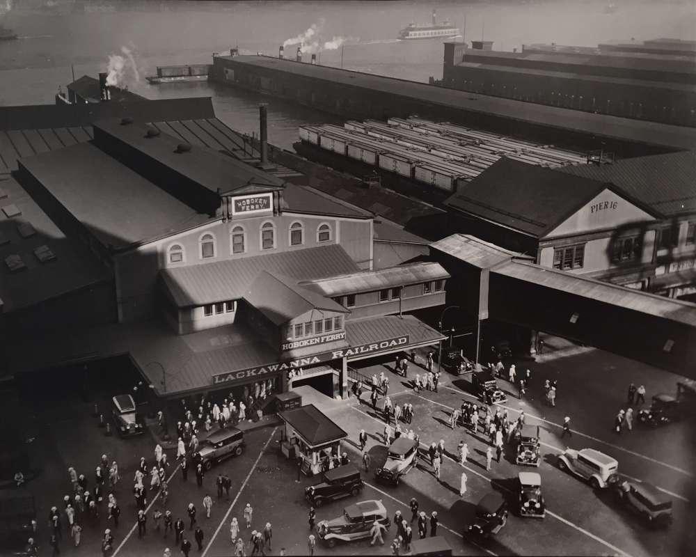 Berenice Abbott, Hoboken Ferry Terminal, New York, 1935