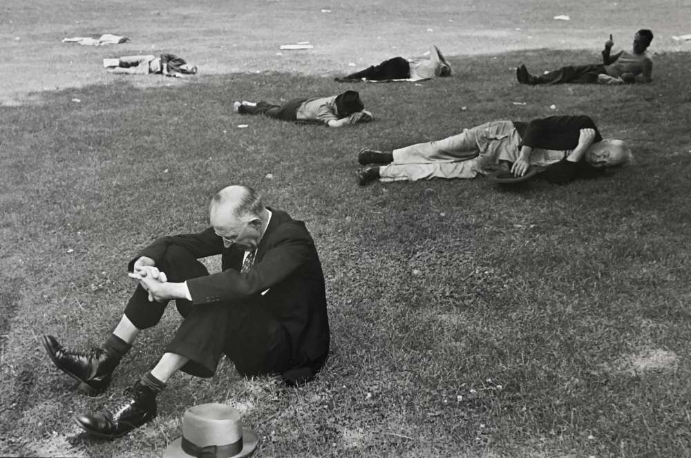 Henri Cartier-Bresson, Boston Commons, 1947