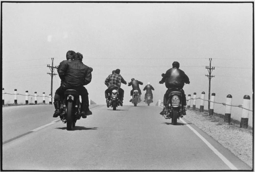 Danny Lyon, Route 12 Wisconsin, The Bikeriders Portfolio, 1963