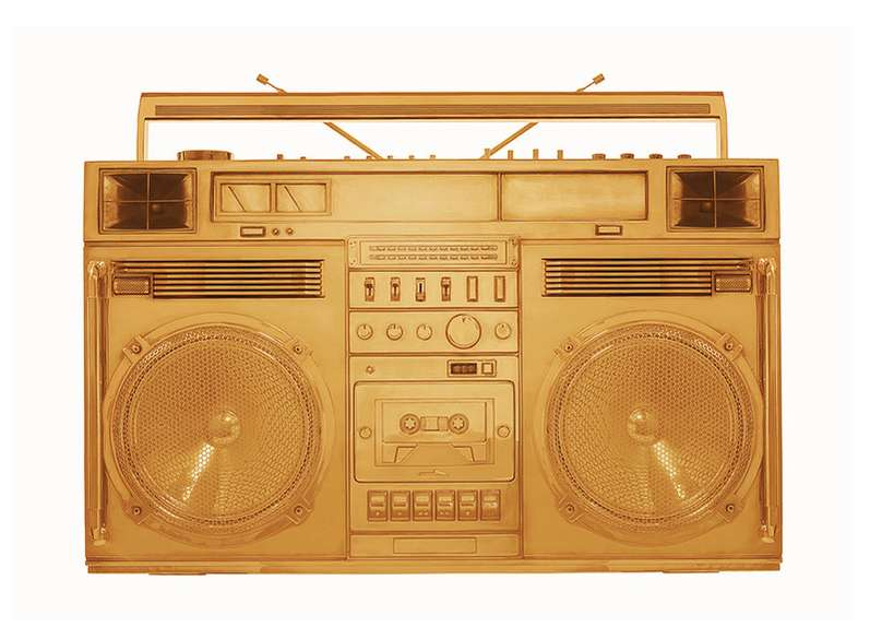 Lyle Owerko, Boombox Gold - version .002, 2018