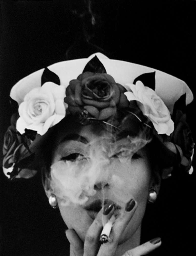 William Klein, Hat + Five Roses, Paris, 1956