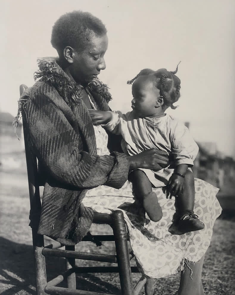 Eudora Welty, Mother and Child, 1935