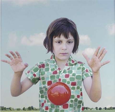 Loretta Lux, The Red Ball, 2001