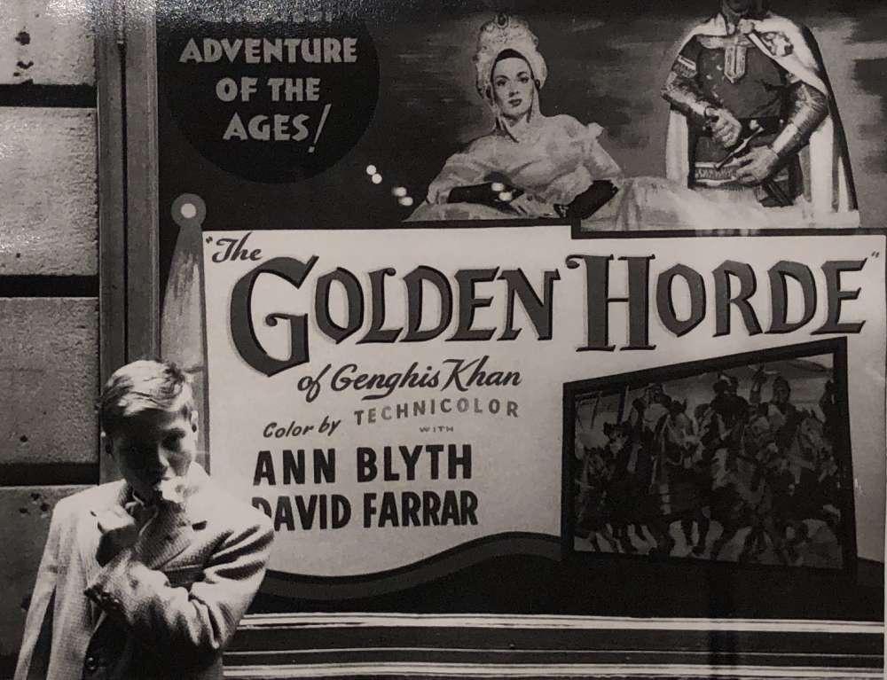 Marvin Newman, Untitled (Golden Horde), 1951