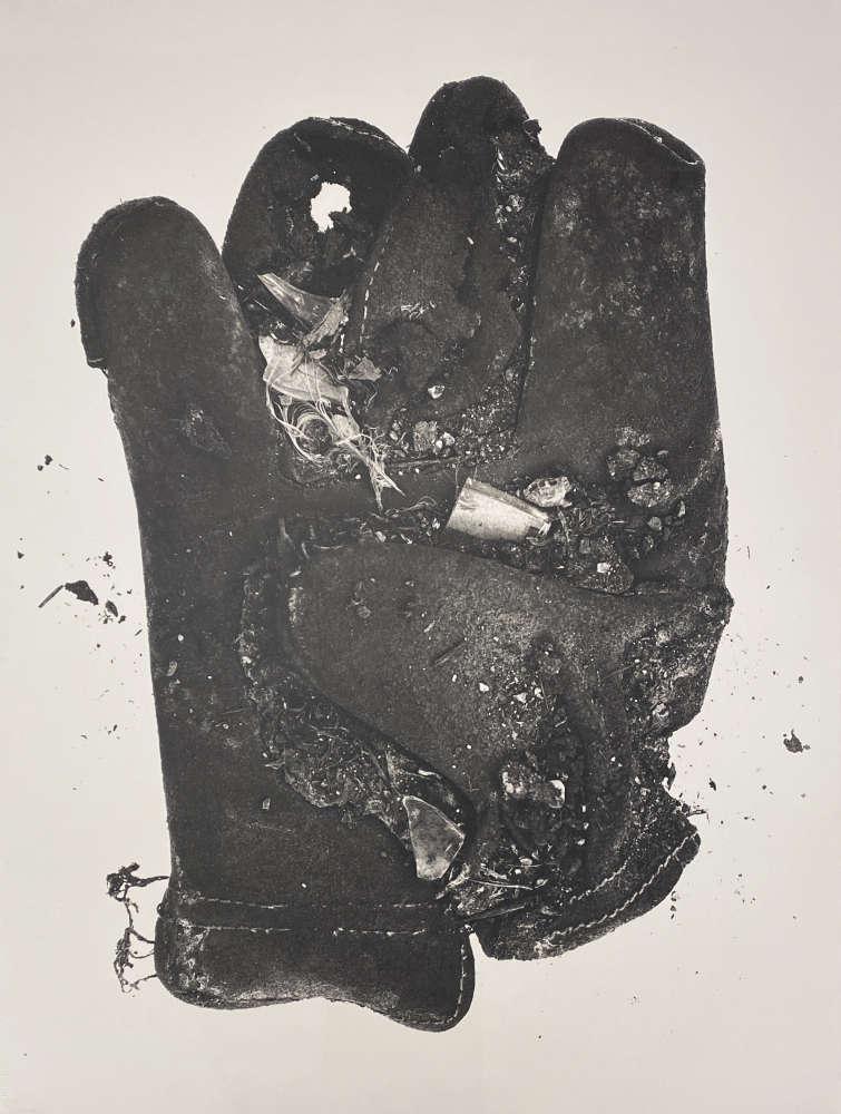 Irving Penn, Feather Glove (Small Neg XXX), 1975