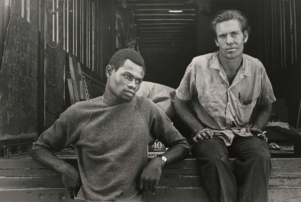 Danny Lyon, State Fair, Carnival Workers, Knoxville, 1967