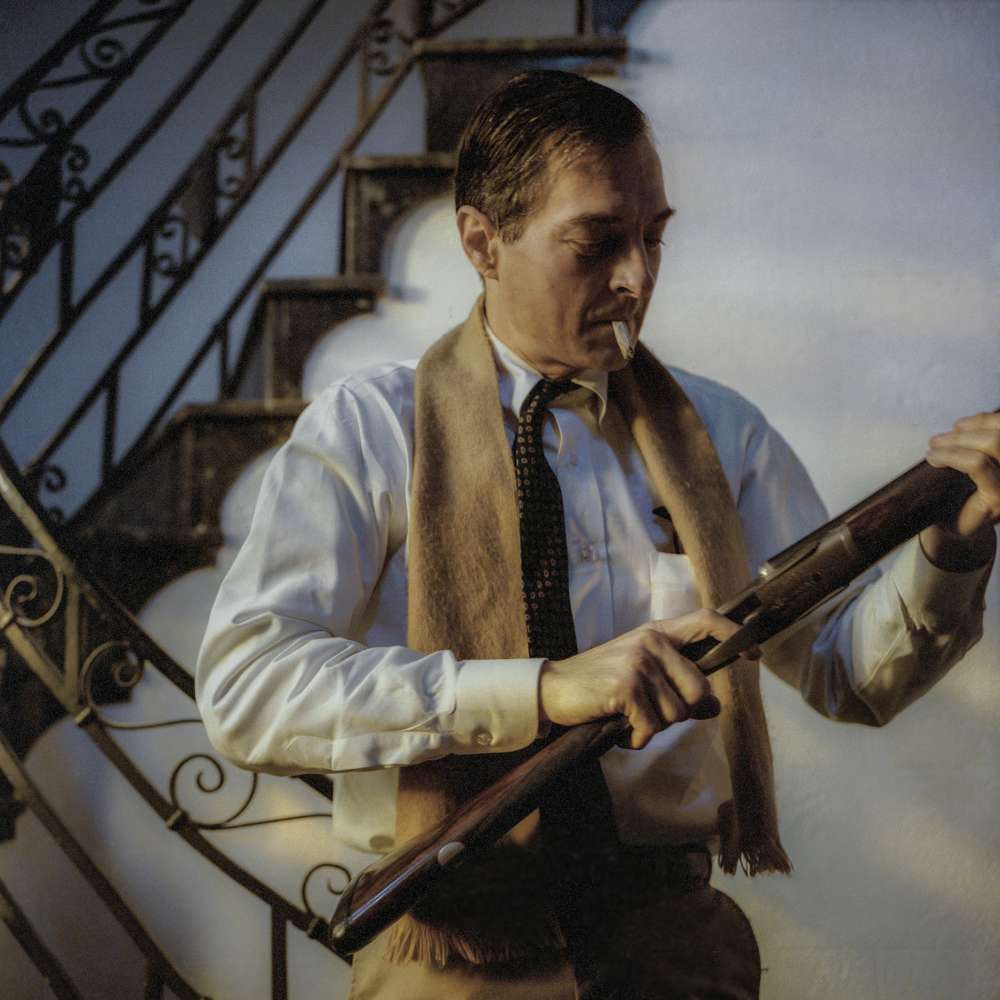 Maude Schuyler Clay, William Eggleston with Gun, Memphis, 1988