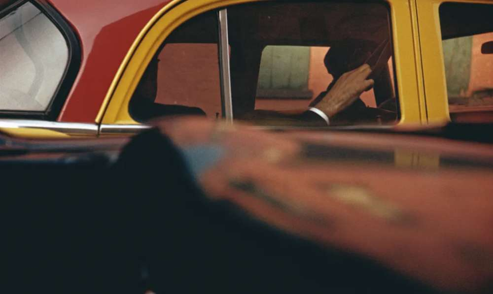 Saul Leiter, Taxi, New York, 1957