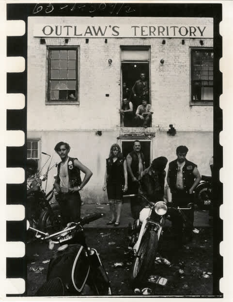 Danny Lyon, Ohio, from The Bikeriders, 1966